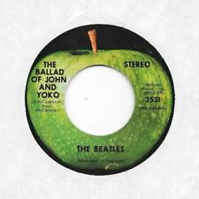 BEATLES * 45 * The Ballad Of John And Yoko *1969 * VG+/VG++ ORIGINAL APPLE Vinyl