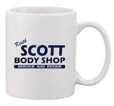Keith Scott One Tree Hill Body Shop Carolina TV DT Ceramic White Coffee Mug