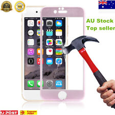 3D Titanium Alloy Tempered Glass Screen Protector Film For Apple iPhone 6 Pink