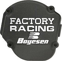 Honda CR80 CR85 85-07 Boyesen Factory Racing Ignition Cover Black CR 80 CR80R 85