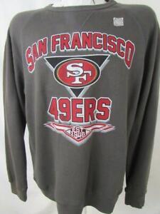 San Francisco 49ers Mens S M L XL 2XL Screened Team Crew Sweatshirt ASNF 183