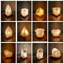 Natural salt lamps handmade