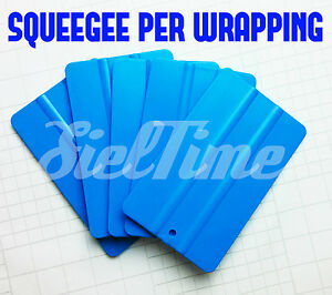 SQUEEGEE SPATOLA IN PLASTICA PER CAR WRAPPING PELLICOLA ADESIVA CAST TUNING