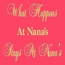 ~ITEM #2683 I ~ Primitive Stencil ~ What Happens At Nana's