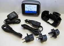 TomTom RIDER 1 1st Motorcycle GPS Bike Navigation System Set US/Canada/Europe EU