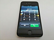 Apple iPhone 4s, Model A1387, Black, FOR PARTS ONLY, Bad Home Button, PIN Locked