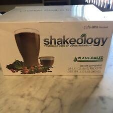 NEW Shakeology Vegan Cafe Latte 24 Pkt Sealed