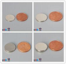 "20/60/100pcs Multiple Size 16mm 5/8""dia Thin Rare Earth Neodymium Magnet Disc"