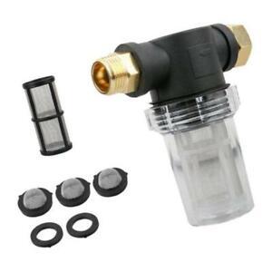 Garden Hose Filter for Sediment Outdoor Garden Inlet Water Pressure Washer