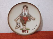 Vintage Norman Rockwell 1979 Leap Frog In Relief Design Collector Plate.