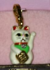 NIB! Juicy Couture Lucky CAT Charm 2008 Rare! Retired!