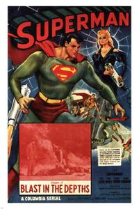 SUPERMAN by Spencer Gordon Bennet MOVIE POSTER 1948 24X36 HOT NEW VINTAGE - PY2