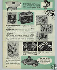 1962 PAPER AD Barbie Doll Sports Car Wolverine Toy Play Rite Hite Oven Stove