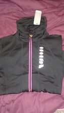 NWT Zaggora Ruched Jersey Body Blazer Fitness Training Jacket sm