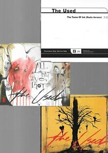 3 x THE USED - take it away + taste of ink + all that i ve got - CD PAKET