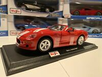 Maisto 1:18 Scale Special Edition Diecast Model Car - Shelby Series One - Red
