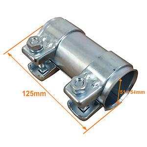 Manchon de raccord d'echappement / Diam 54 / Longeur 125 mm / 54X125
