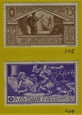 ITALY Stamps Scott 244, 248, 302, 342 MH