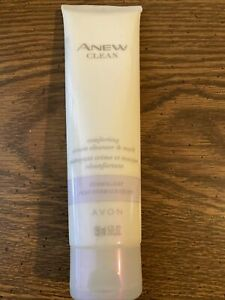 AVON ANEW CLEAN COMFORTING CREAM  CLEANSER & MASK FOR NORMAL /DRY SKIN 5 FL OZ