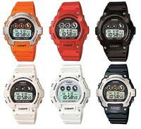 Casio Collection illuminator Digital Alarm Chronograph Sports Strap Watches