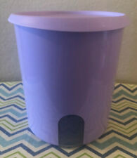 Tupperware One Touch Canister w/ Window Lilac 18 Cups New