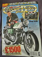 Classic Bike Magazine. August, 1997. Number 211. SR500 Yamahas. Trials Triumph.