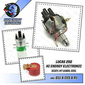 MG Midget & MGB Performance Electronic distributor & High Energy Lucas Coil