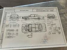 Limitierter ARTwork W123/C123 Coupe Mercedes