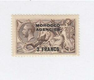 GB-MOROCCO AGENCIES (MK7275-76) # 410 VF-MLH/USED 3fr on 2sh6p 2 KGV O/PRINTS