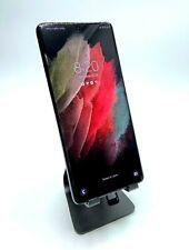 🔥 UNLOCKED! NEW! Open Box Samsung Galaxy S21 Ultra 5G 128GB Black SM-G998U1 🔥