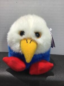 NWT Vintage PATRIOT, the Plush Puffkin from Swibco