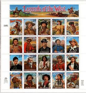 1994 Recalled Legends of the West - #2870 - Mint, Never Hinged
