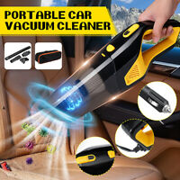 12V 120W Portable Car Auto Handheld Vacuum Cleaner Duster Dirt Wet & Dry Suction