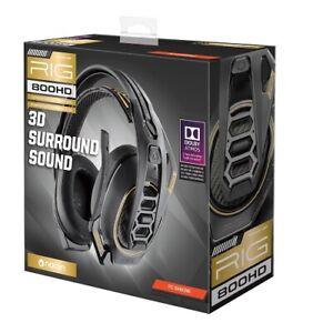 Open Box: RIG 800HD Premium Wireless Gaming Headset - Dynamic 40mm Headphone Dri