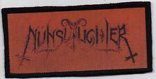 NUNSLAUGHTER PATCH / SPEED-THRASH-BLACK-DEATH METAL