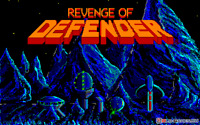 REVENGE OF DEFENDER W MANUAL EPYX 1989 5 1/4 disk ibm pc /tandy @ compatibles