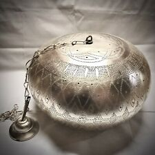 Moroccan Pendant Light Hanging Lamp Lampshades Lighting Brass Silver Plated