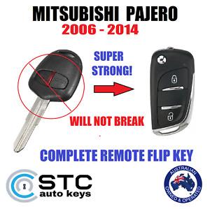 MITSUBISHI PAJERO NS NT REMOTE FLIP KEY 2006 2007 2008 2009 2010 2011 2012 - 14