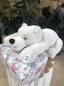 Thaw 2 Charlie Bears Plush Polar Bear 2020 Bearhouse Collection Soft Toy