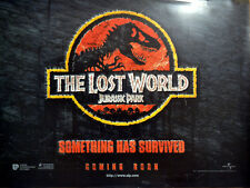 LOST WORLD: JURASSIC PARK 1997 Jeff Goldblum, Julianne Moore UK QUAD POSTER