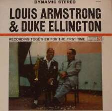 Recording Together for the First Time by Duke Ellington/Louis Armstrong (Vinyl, Aug-2016, Roulette Records)