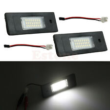 2x 24 LED For BMW Z4 E63 E64 E81 E85 E87 650i M6 Error Free License Plate Light