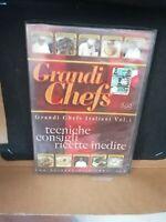 DVD Documentario cucina GRANDI CHEFS ITALIANI Vol.1 tecniche consigli ricette