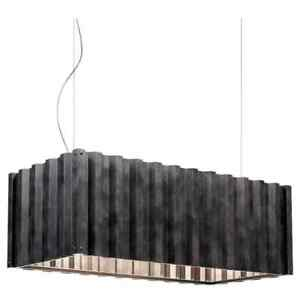 Foscarini Container Suspension Lamp in Black by Diesel