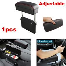 Adjustable Universal Car Center Console Seat Gap Armrest Pad Leather Storage Box