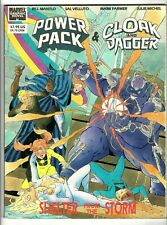 Marvel Graphic Novel: Cloak & Dagger & Power Pack (1989) VG/FN-FN