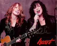 ANN + NANCY WILSON Hand Signed Photo 8 x 10 Color Authentic Autograph 2 Steve