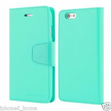 iPhone 6 6s Genuine Mercury Goospery MINT Green Flip Case Wallet Cover Post