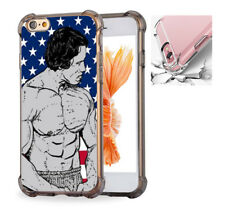 For iPhone X 6 6s 7 8 Case Cover Arnold Schwarzenegge Body Building #7579