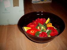 3-Docht Kerzenschale  Burgung  von Partylite   P9897